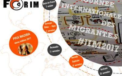 FORIM International Migrants Day 2017 regional forums