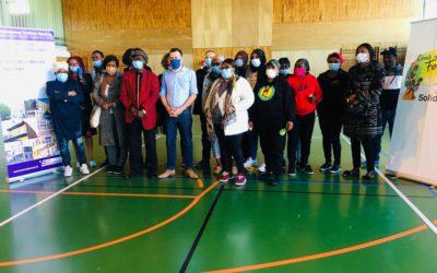 The Mantais Solidaires produce a thousand masks a week!