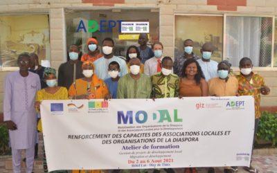 « Mobilisation des Organisations de la Diaspora et des Associations locales pour le Développement » – Partenariats entre diaspora et société civile de Côte d'Ivoire, Mali, Maroc et Sénégal pour le développement local